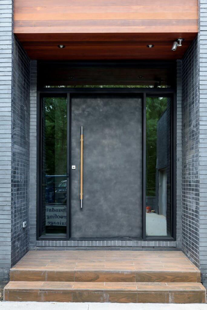 Front View of Custom Scardino Modern Door